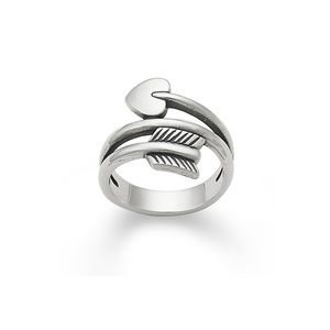 james avery heart arrow ring